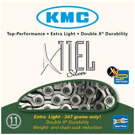 Ketting KMC X11 EL Zilver