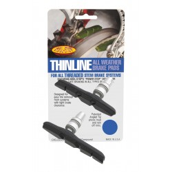 REMBLOK MTB THINLINE THREADED SET ZWART
