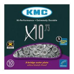 KETTING X10.73 10 SPEED 116L. ZILVER/GRIJS
