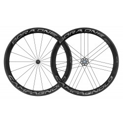 WIELSET BORA ONE 50 DARK CLINCHER SHIMANO