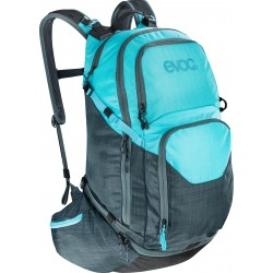 EXPLORER PRO 30L / HEATHER SLATE-HEATHER NEON BLUE