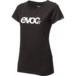 T-SHIRT LOGO WOMEN / BLACK / S