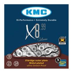 KETTING X8.99 6/7/8 SPEED 116L. ZILVER