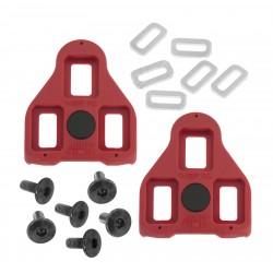 Schoenplaatjes Trivio Look Delta compatibel rood
