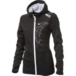 HOODY JACKET WOMEN / BLACK / S