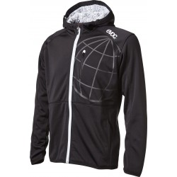 HOODY JACKET MEN / BLACK / L