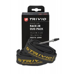 BIB RACE DUO-PACK 700X18/25C SV 60MM PRESTA