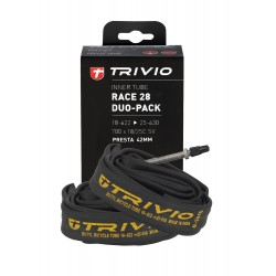 BIB RACE DUO-PACK 700X18/25C SV 42MM PRESTA