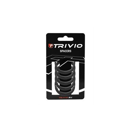 SPACER 10MM CARBON 1-1/8 - 5 ST.