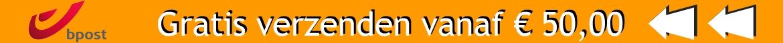 Top banner gratis verzenden vanaf 50 Euro